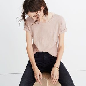 Madewell Friday Embroidered Whisper Cotton Tee